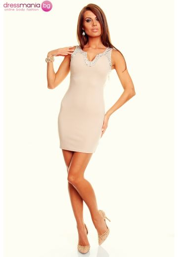Елегантна рокля с акрил лайт