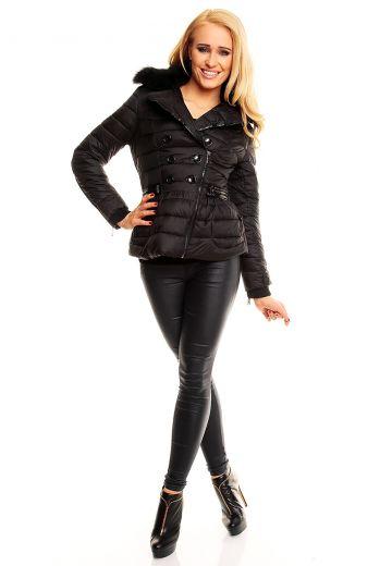 Вталено дамско зимно яке