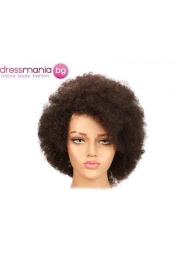 Афро перука от естествен косъм FW2-30