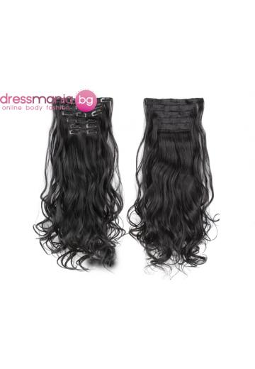 Комплект коса на редове с клипс 1B