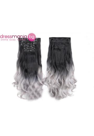 Комплект коса на редове с клипс 1BT0609