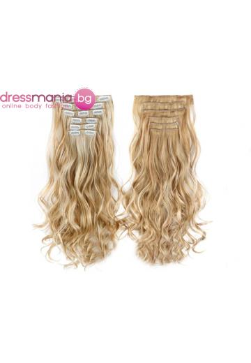 Комплект коса на редове с клипс 22TH613
