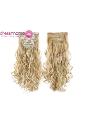 Комплект коса на редове с клипс 24H613