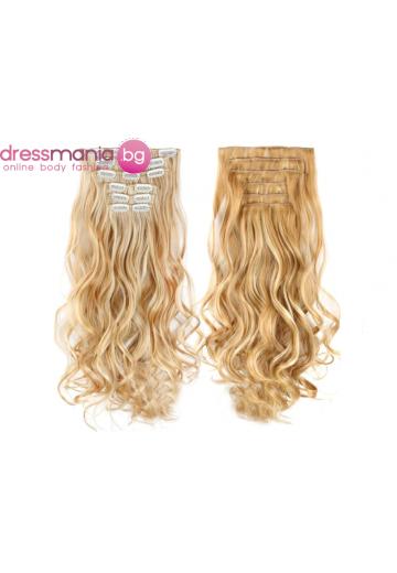 Комплект коса на редове с клипс 27H613