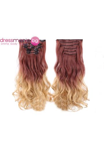 Комплект коса на редове с клипс 30T25