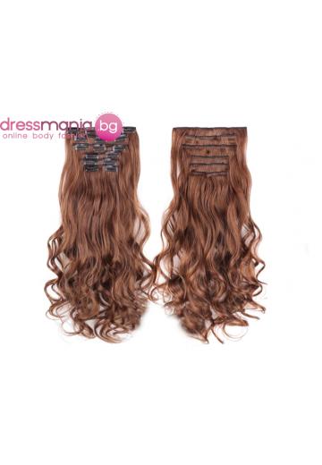 Комплект коса на редове с клипс 4-30
