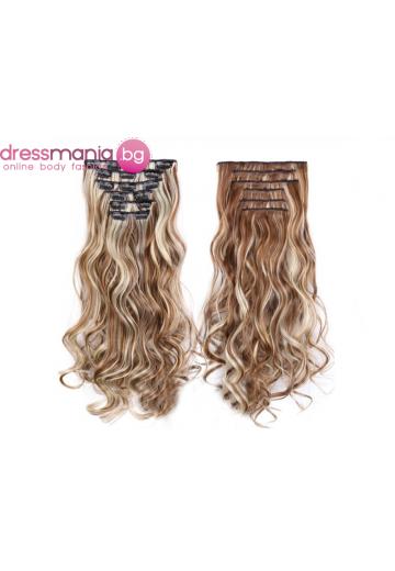 Комплект коса на редове с клипс 6H613