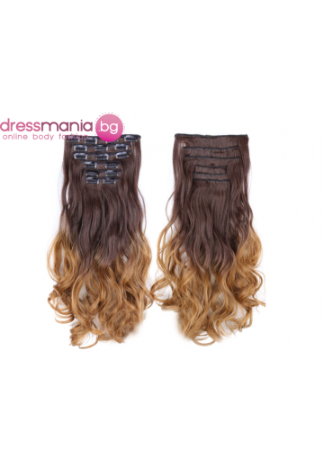 Комплект коса на редове с клипс 6T27