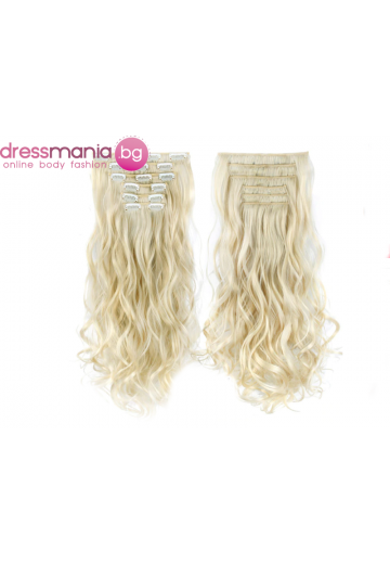 Комплект коса на редове с клипс #88