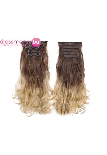 Комплект коса на редове с клипс 8T24