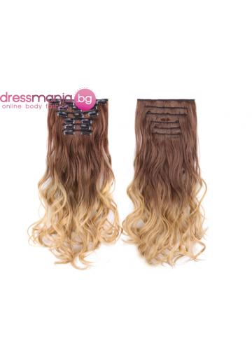 Комплект коса на редове с клипс 8T25