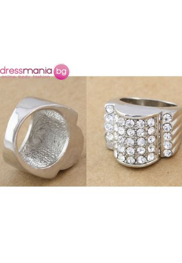 Масивен дамски пръстен