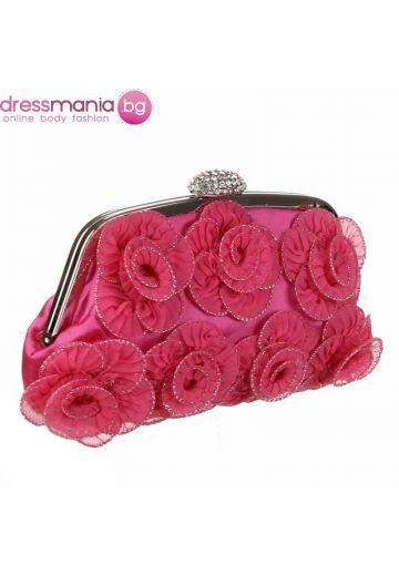 Розова чанта за официален повод