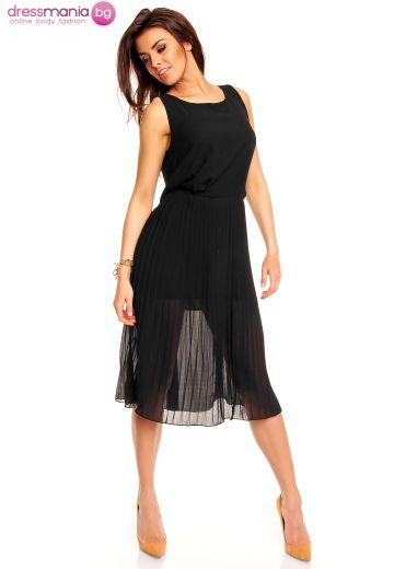 Плисирана лятна рокля