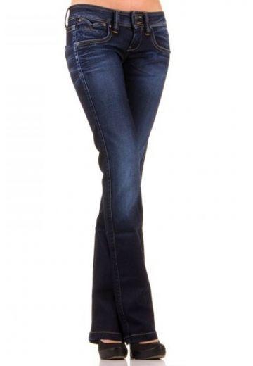 Дамски дънки в тъмно синьо Pepe Jeans