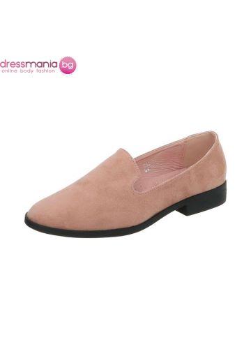 Ежедневни дамски обувки в нежно розово