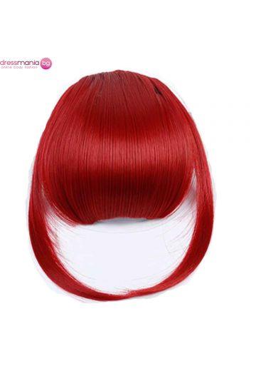 Аксесоар за коса бретон синтетичен косъм #101