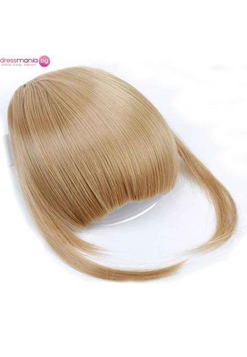Аксесоар за коса бретон синтетичен косъм #103
