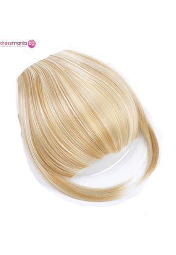 Аксесоар за коса бретон синтетичен косъм #105