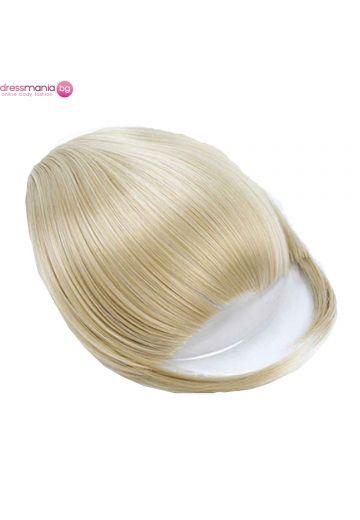 Аксесоар за коса бретон синтетичен косъм #107