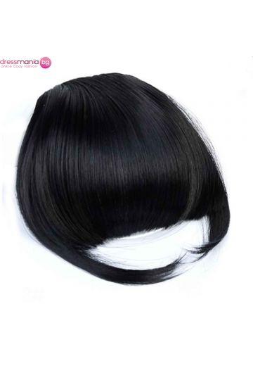 Аксесоар за коса бретон синтетичен косъм #2