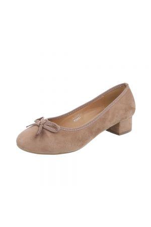 Дамски ежедневни обувки в цвят каки