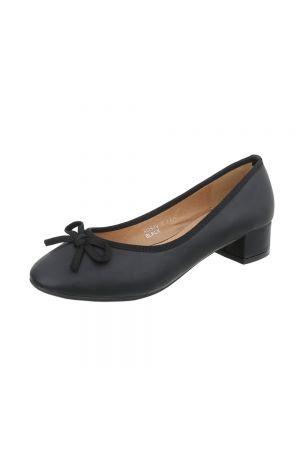 Дамски ежедневни обувки в цвят черен