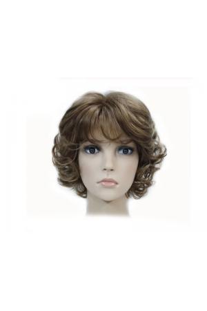 Къса дамска перука - синтетична 30 см #V6