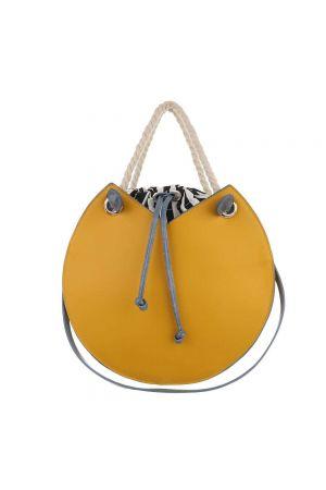 Дамска чанта в жълто