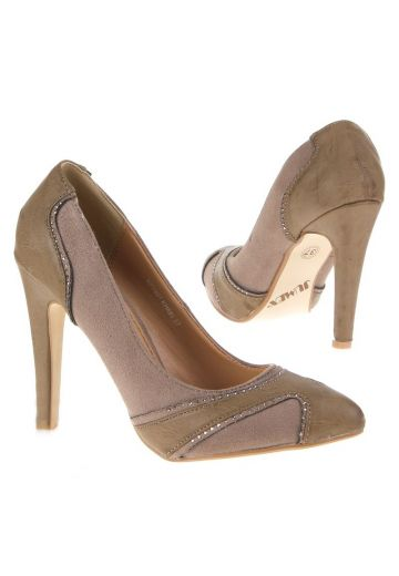 Каки елегантни обувки кожа и набук