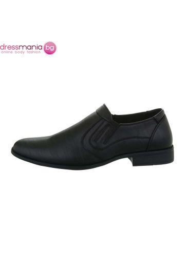 Елегантни мъжки обувки в черно