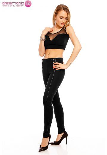 Дамски панталон Redial в черно