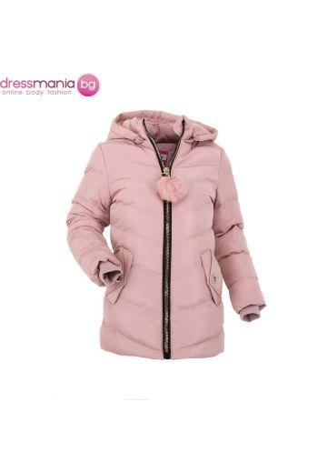 Детско яке за момиче в цвят розе Nature
