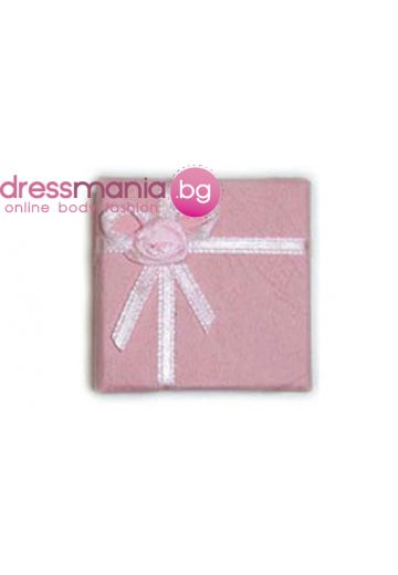 Розова кутия за пръстен Dekolte