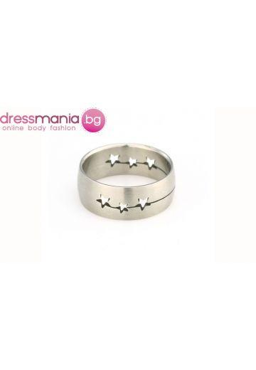 Гравиран пръстен от стомана