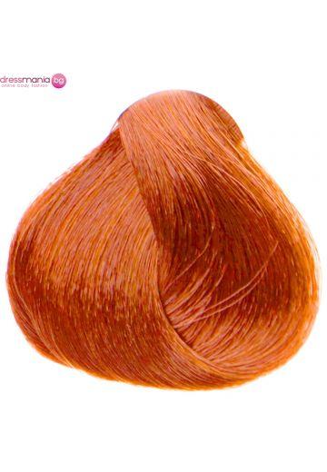 Естествена коса за удължаване на стикер цвят червен мед  #130