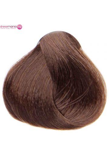 Естествена коса за удължаване на стикер цвят меден кестен  #17