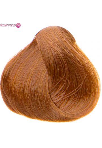 Естествена коса за удължаване на стикер цвят метал мед  #30