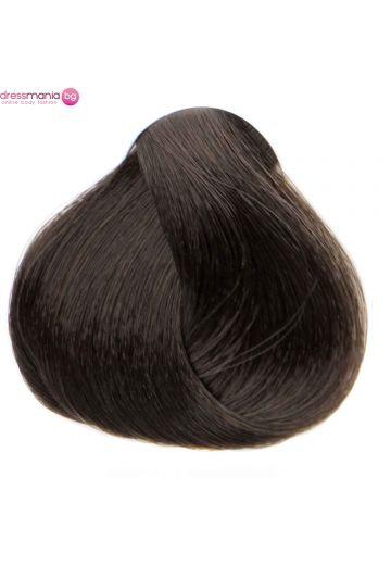 Естествена коса за удължаване на стикер цвят пепелнокафяво  #10