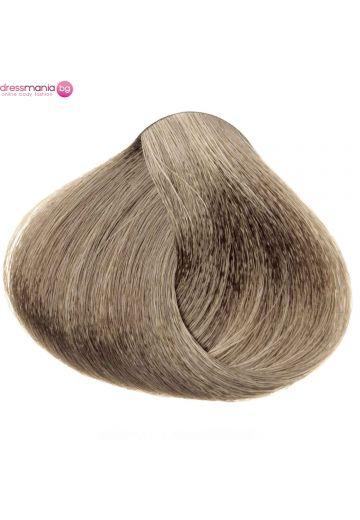 Естествена коса за удължаване на стикер цвят светло пепелнокафяво  #11