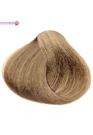 Естествена коса за удължаване на стикер цвят тъмно пепелноруса  #14.1