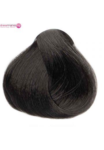 Естествена коса за удължаване на стикер цвят черен  #1B