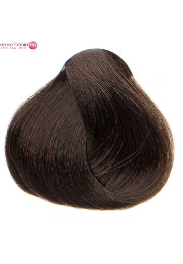Естествена коса за удължаване на стикер цвят кестеняв  #4