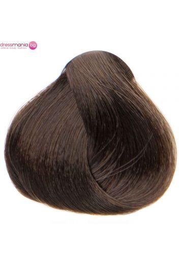 Естествена коса за удължаване на стикер цвят светлокестеняв  #6