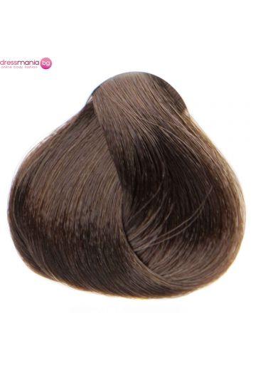 Естествена коса за удължаване на стикер цвят светлокафяв  #8