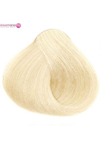 Естествена коса за удължаване на стикер цвят светло златнорус  #DB2