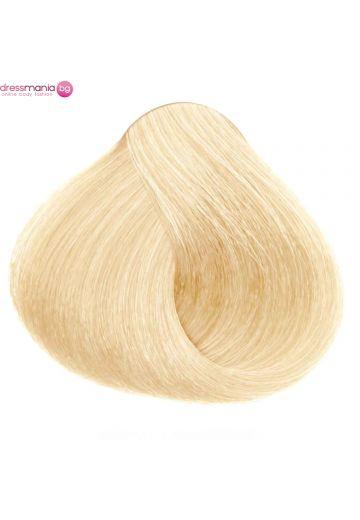 Естествена коса за удължаване на стикер цвят златнорус  #DB3