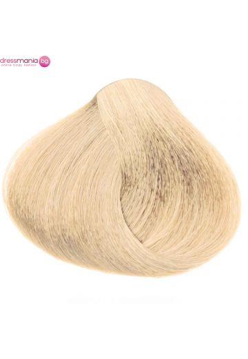 Естествена коса за удължаване на стикер цвят светло пепелнорус  #DB4.1
