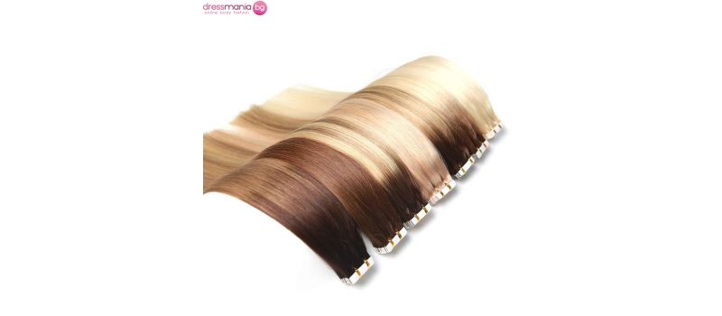 Естествена коса на стикери