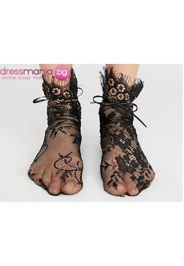 Мрежести дамски чорапи